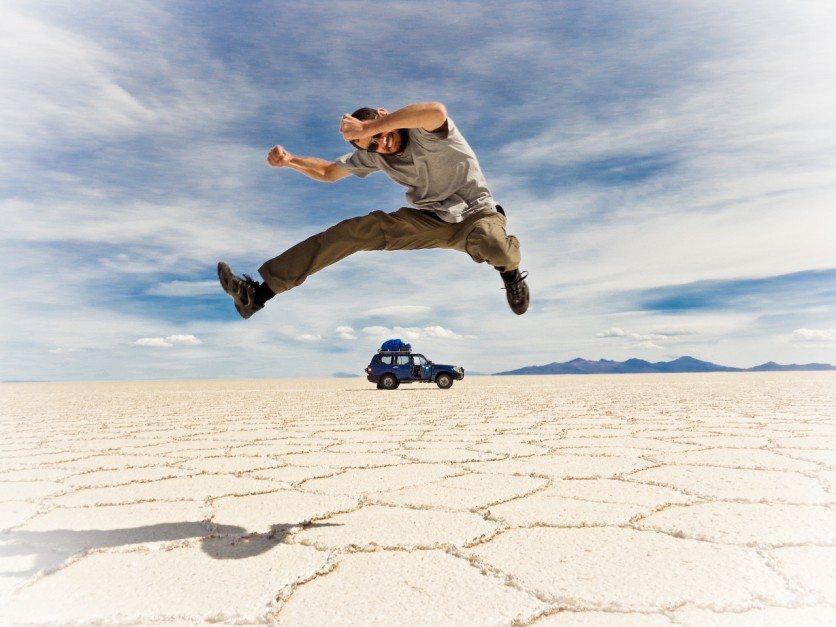 bolivia salt flats salar De Uyuni