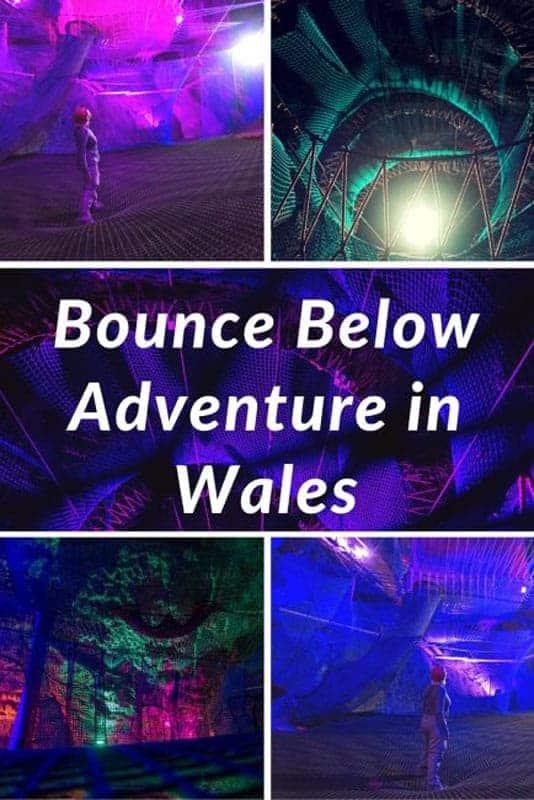 bounce below wales underground trampoline