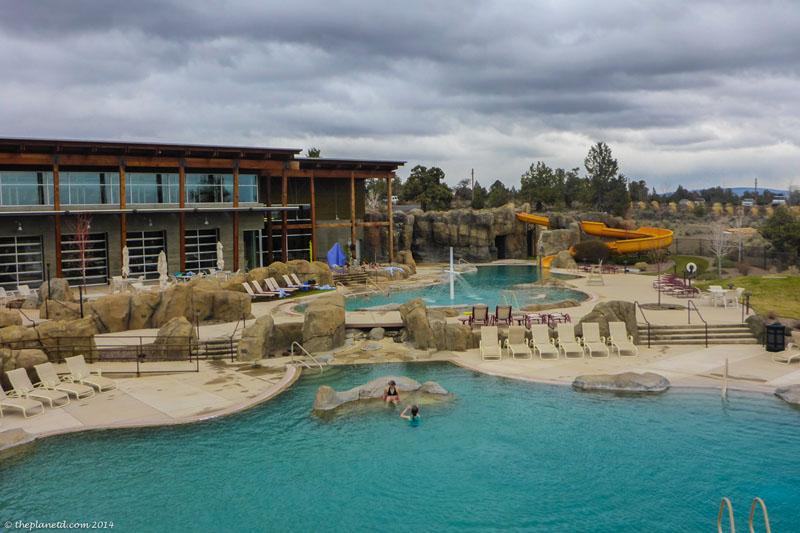 pool at ranch