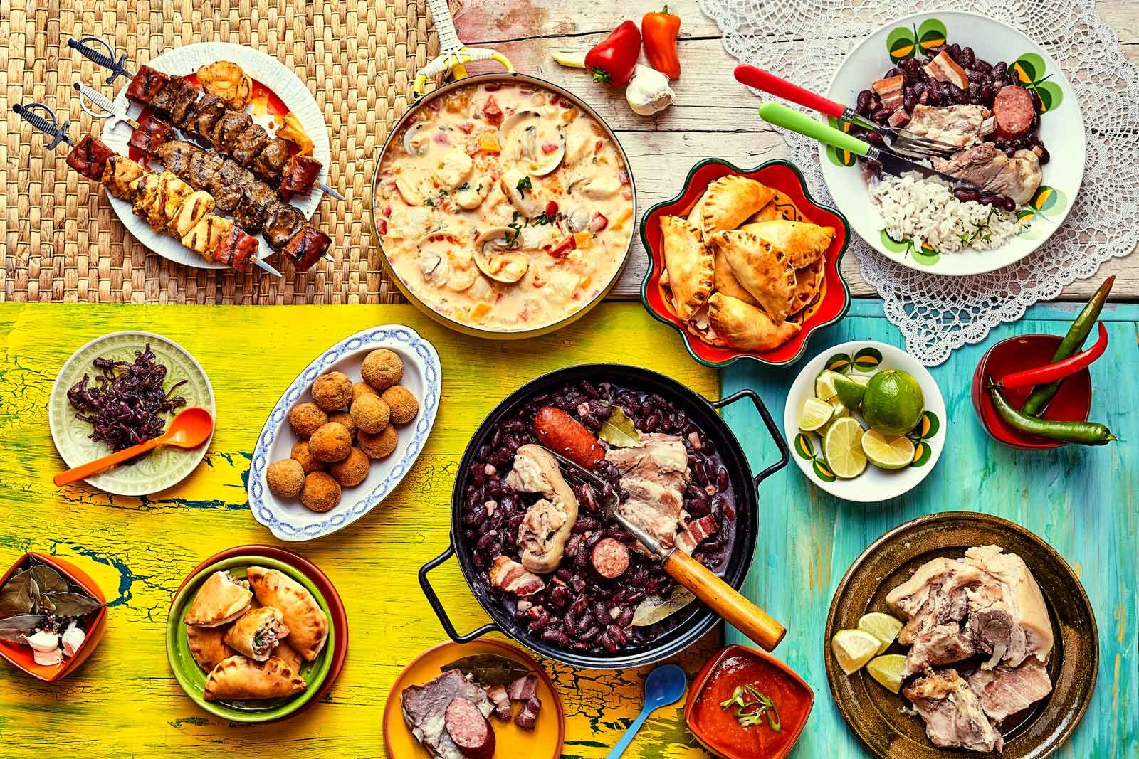 delicious brazil food