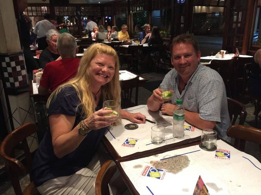 brazilian food and drinks the Caiparinha