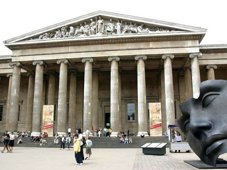 travel photography of the british museum