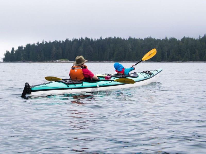 broken islands double kayaking