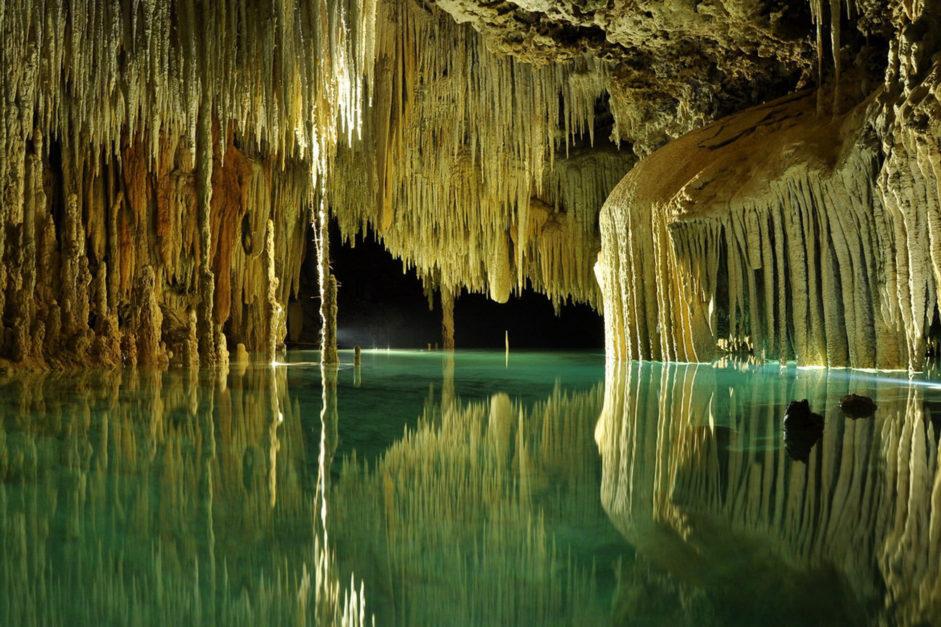 rio secreto cenote mexico