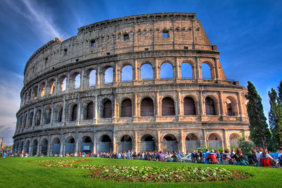 roman colosseum daytime