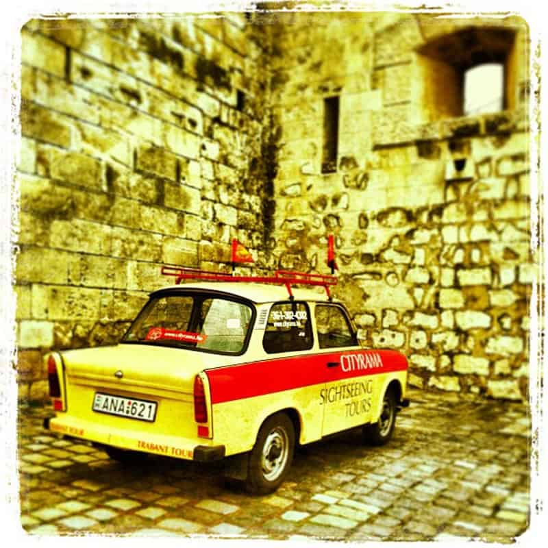 communism in Budapest trabant Tours