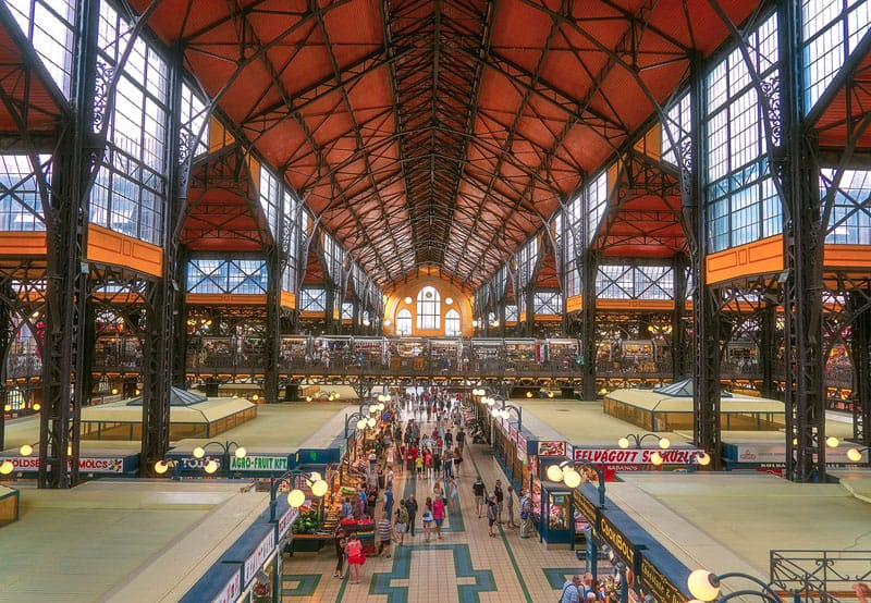 budapest pictures great market hall