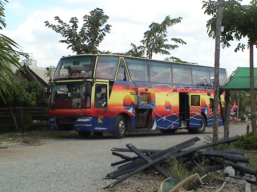Super VIP bus from Bangkok to Cambodia Border