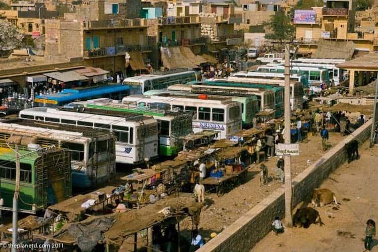 bus travel in india bus terminals