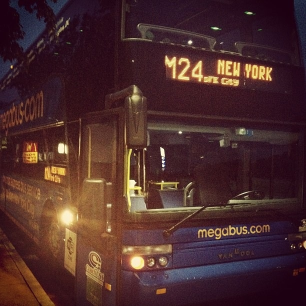 bus travel megabus