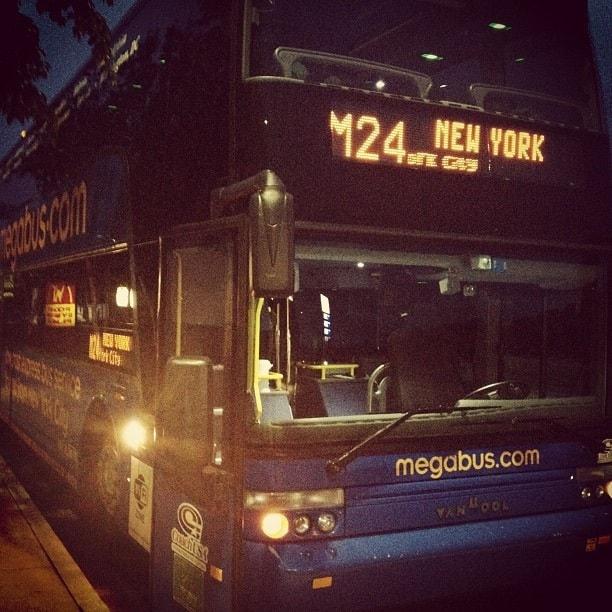bus travel megabus