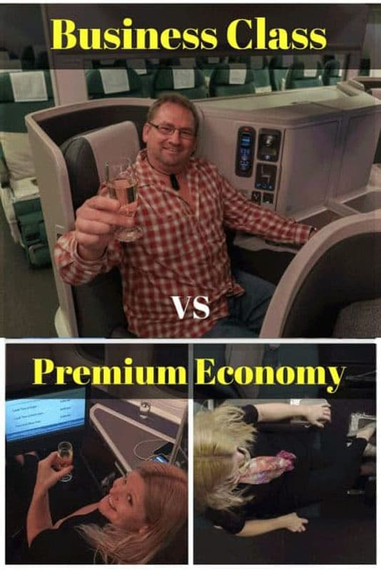 business class vs premium economy
