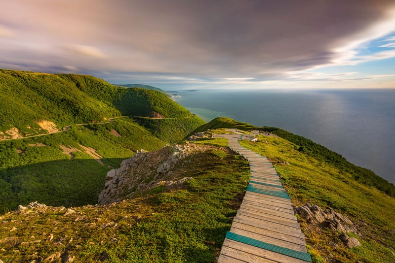 Skyline Walk Cabot Trail