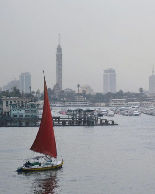 pollution in cairo
