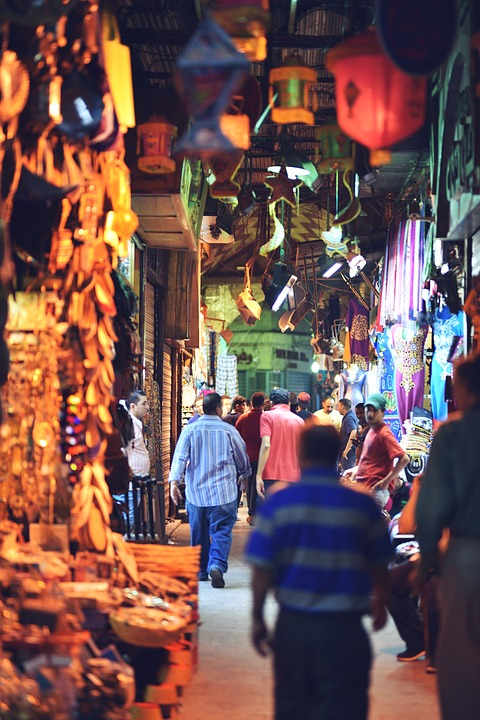 cairo egypt souks