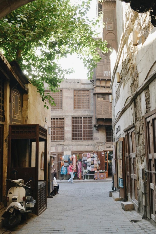 cairo guide souks in morning