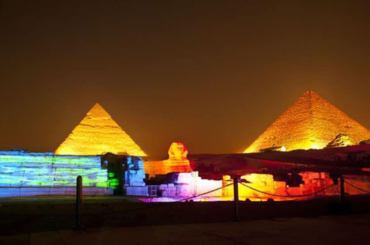 light pollution cairo egypt