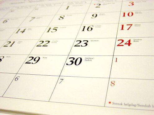 calendar-editorial