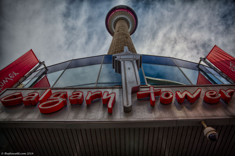 calgary tower entrance