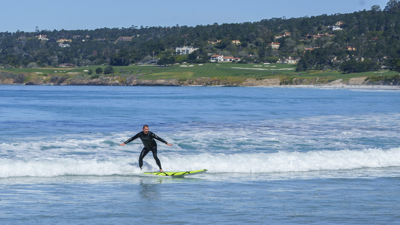 california travel surfing