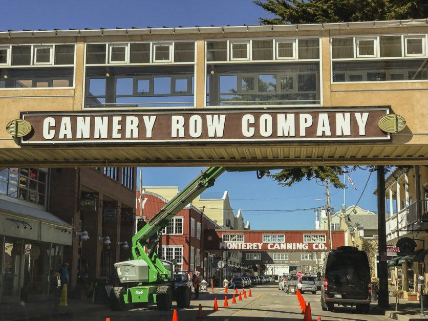 California Roat Trip stop: Monterey