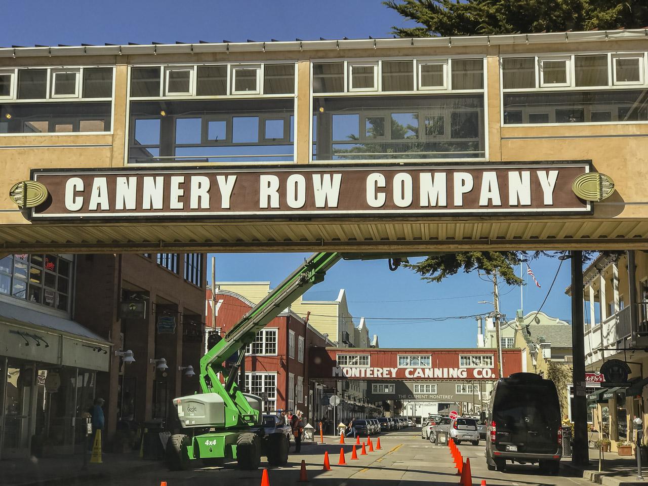 Roat Trip stop: Monterey