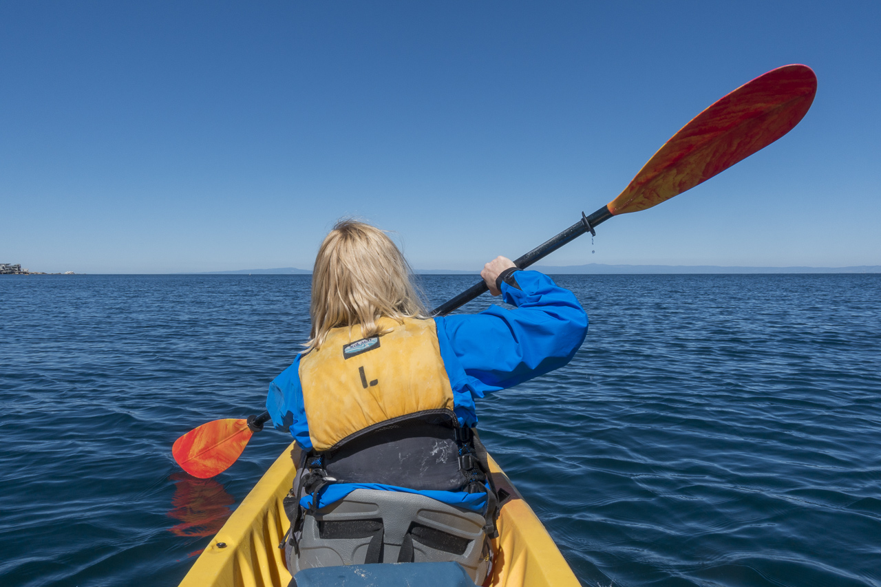 Kayaking in Monterey Bay is a must do on your California Trip