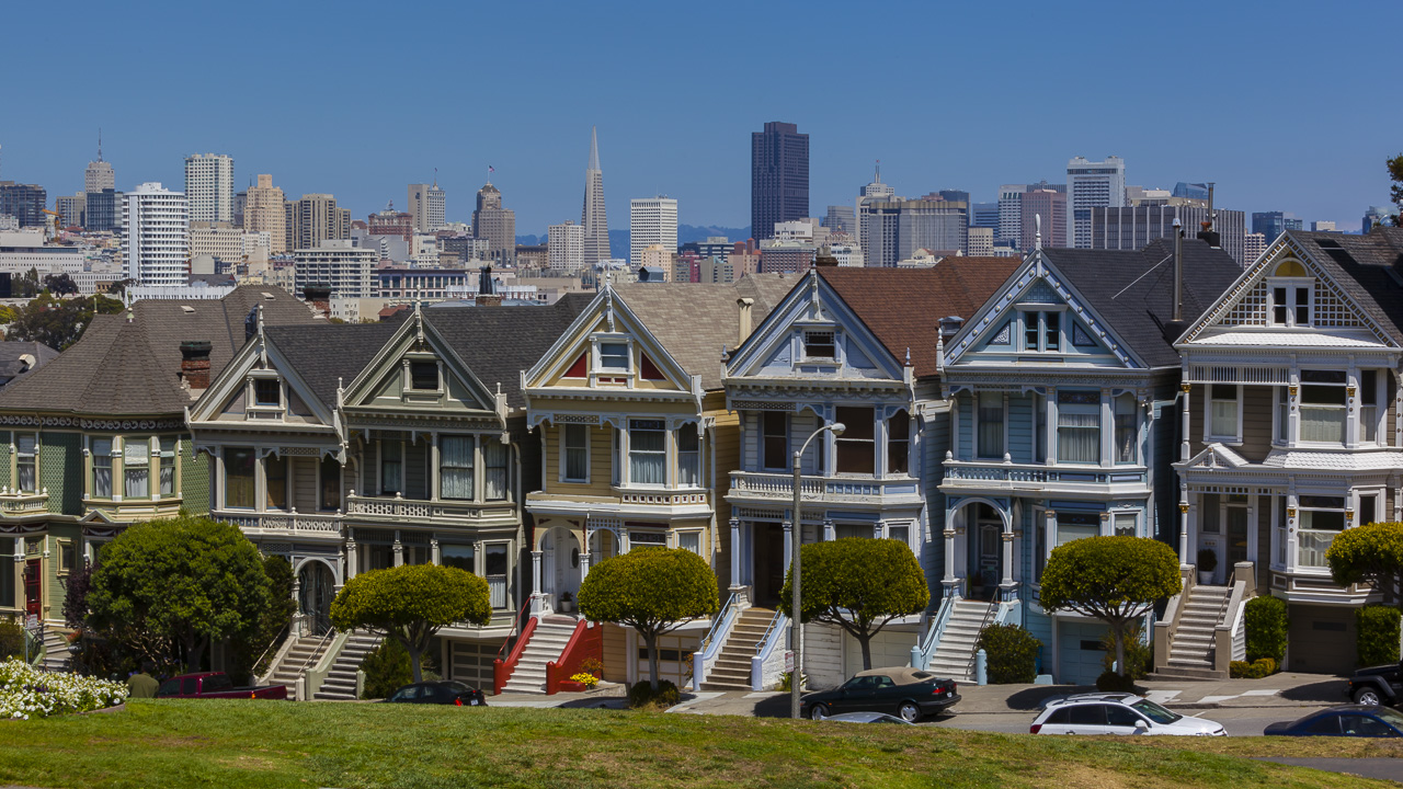 The Painted Ladies San Francisco on your California Trip