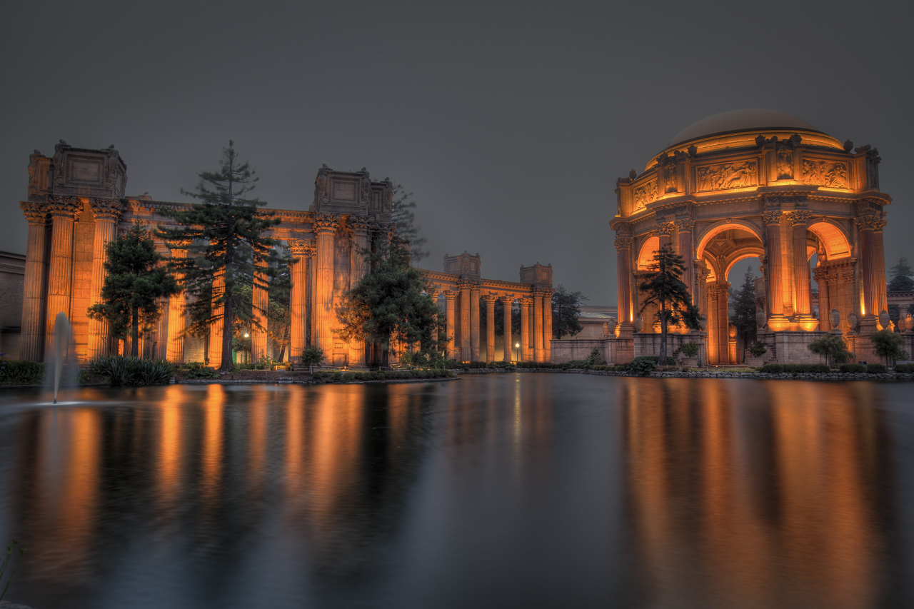 California Road Trip | The Palace of fine Arts in San Francisco