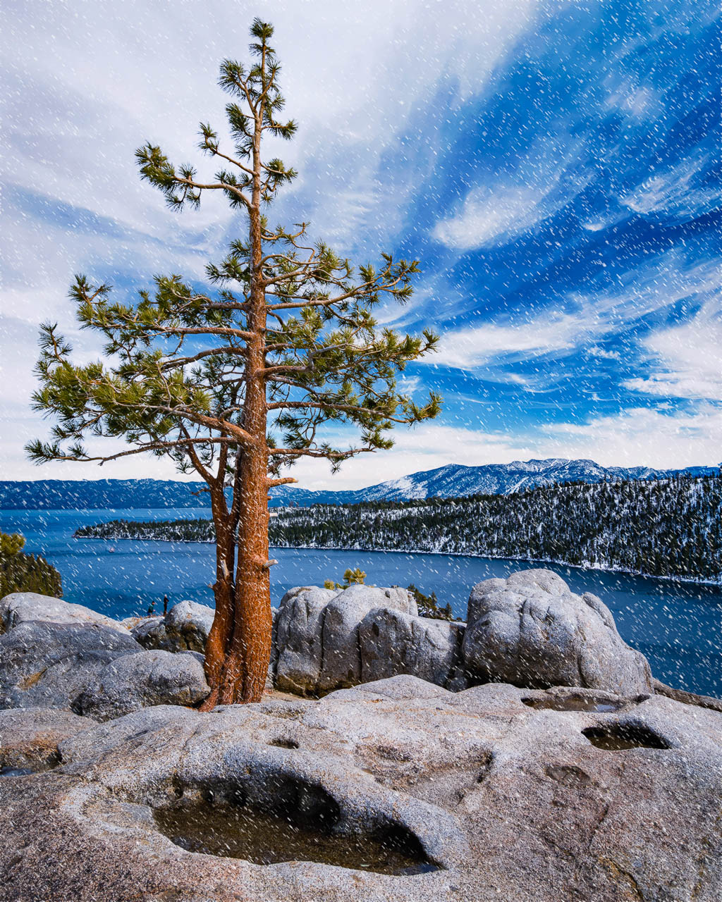 Emerald bay south lake tahoe california road trip