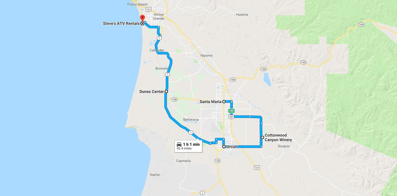 map santa maria