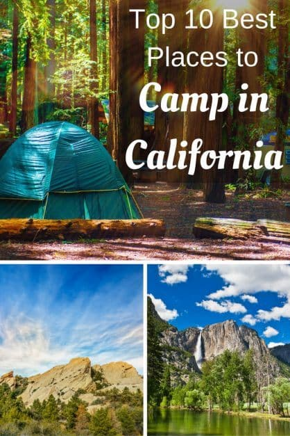 Best Places To Put A Small Tattoo: Top 10 Best Places To Camp In California