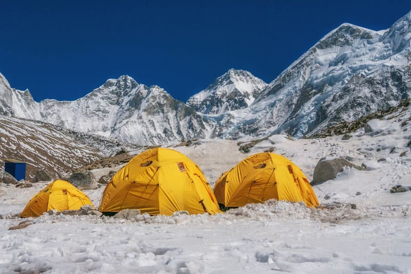 camping tips | tents in himalayas