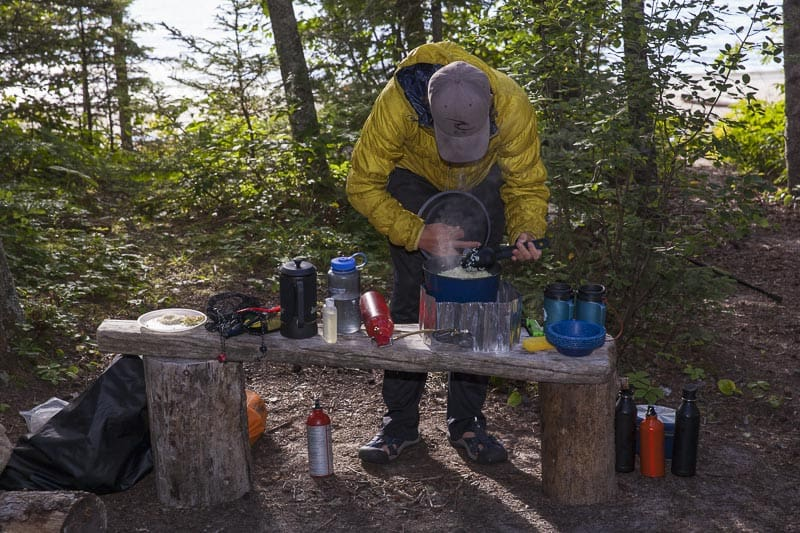 camping gear list optional equipment
