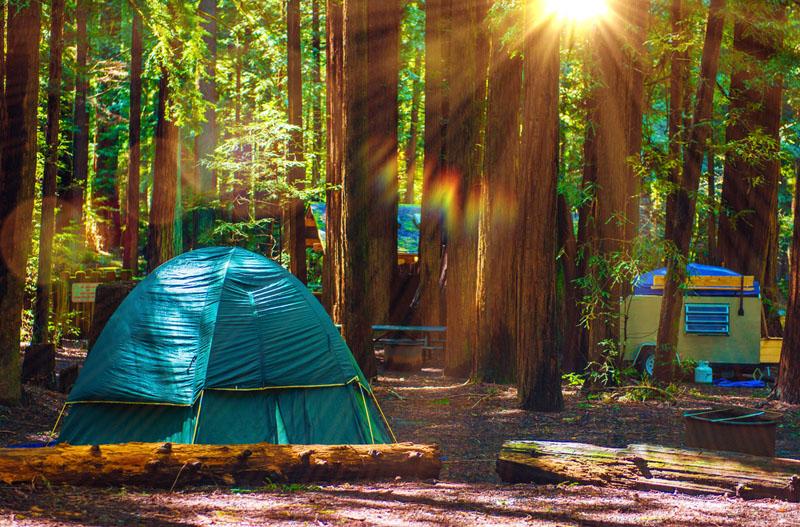 california camping trips