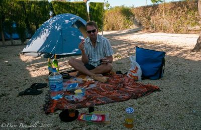 camping tips for spain
