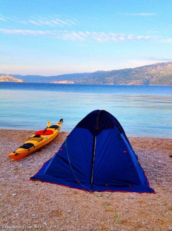 camping tips tent size
