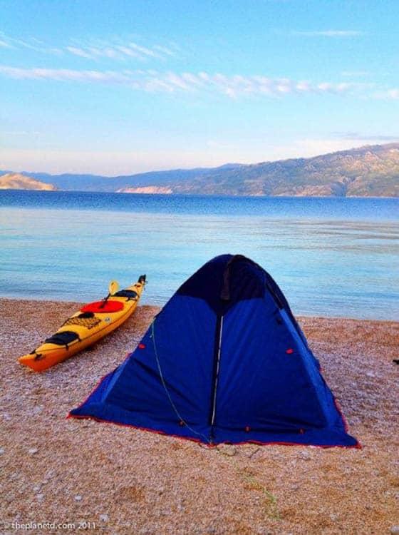 советы по кемпингу размер палатки
