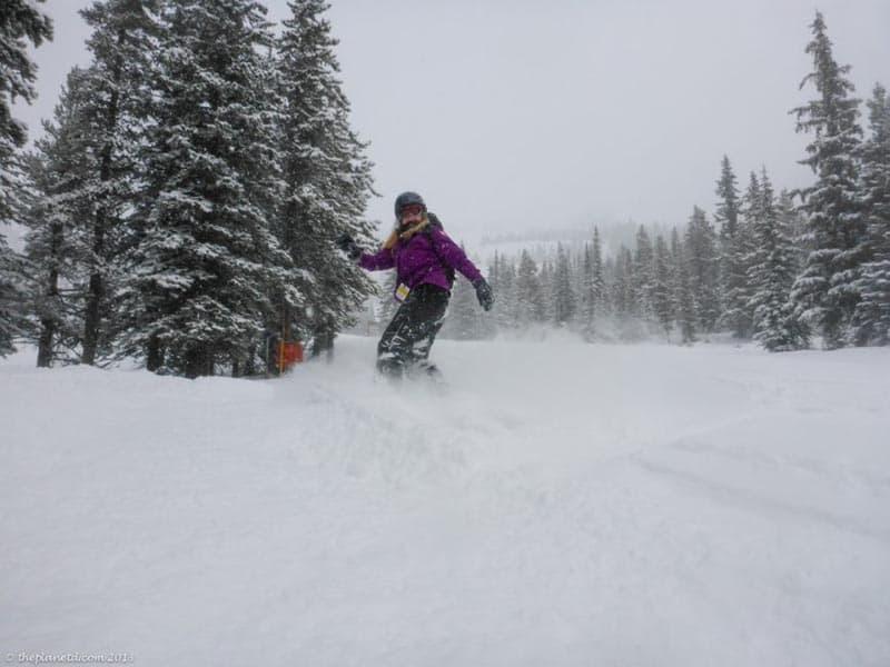 canada adventures snowboarding the rockies