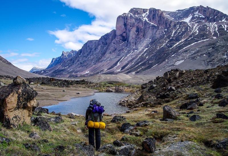 canadian adventures hiking nunavut