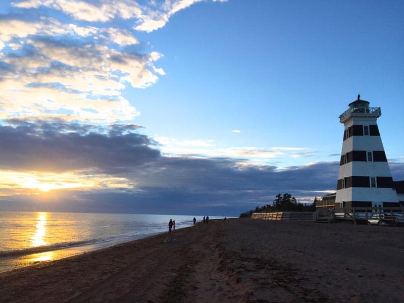great canadian adventures lighthouses of PEI