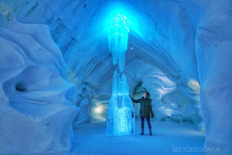 adventures in Canada Ice Hotel