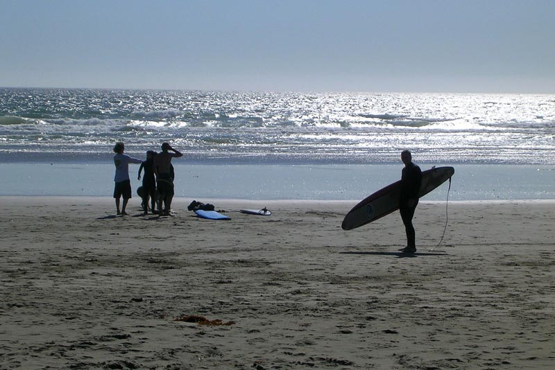 canadian adventures surfing in Tofino