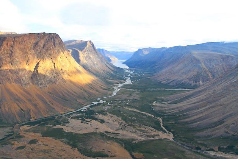 канадские приключения национальный парк торнгатс Посещение Канады