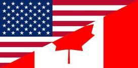 canada america flag