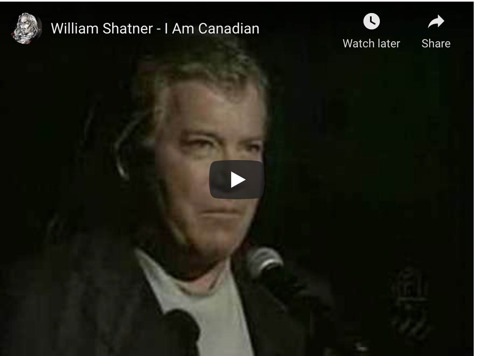 canada day facts william shatner