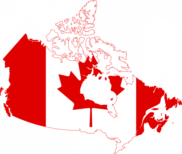 canada information map