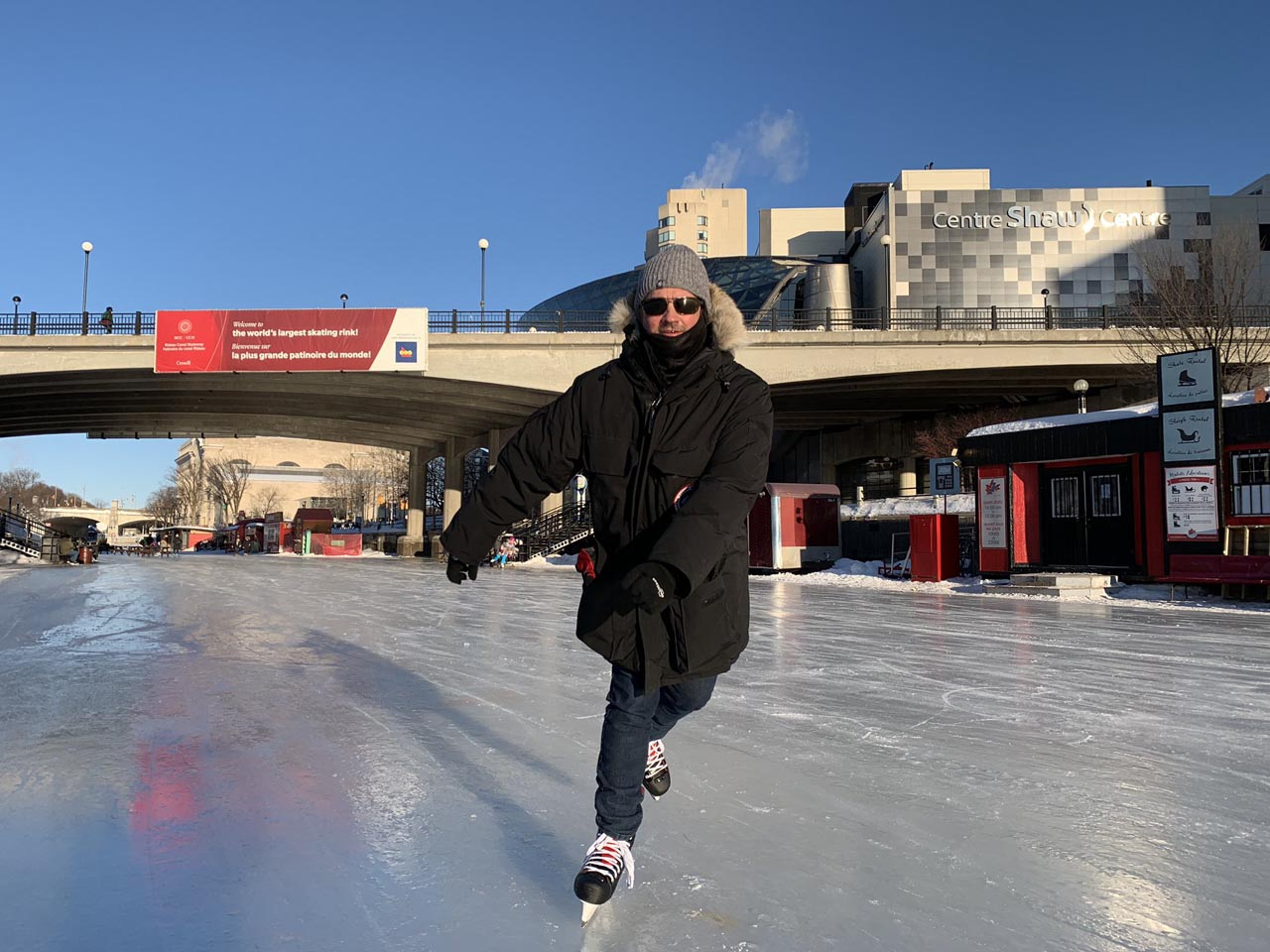 interesting facts about Canada skating rinks