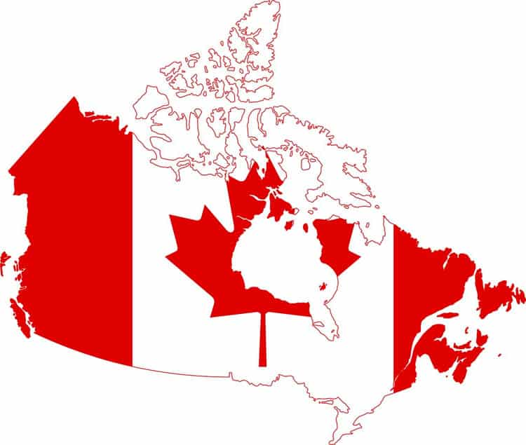 fun facts about canada | geography map