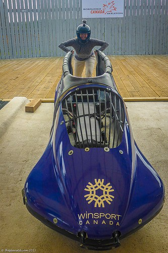 things to do in Calgary bobsleigh